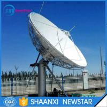 6.2m ku band uplink and downlink motorized satellite communication antenna Manufactures