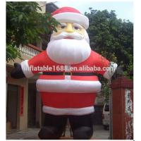 Cute Inflatable Advertising Chubby Inflatable Santa Claus For Kids Manufactures