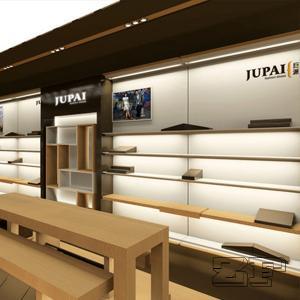 Design display shelf furniture for shoes shop interior design Manufactures