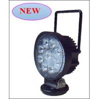 27W 1755LM Cree Led Work Light Head Lamp With Handle for Off road Vehicles Manufactures