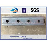 Quality BS80A ASTM and DIN Railroad Joint Bars Railway Fish Plate With 4 Hole , 6 Hole for sale