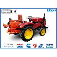 252 / 320mm Bull Wheel Tractor pulling machine 41 kN With 6 Groove Max steel rope 13mm Manufactures