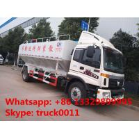 2017s total new FOTON Aumark 12m3 electronic discharging feed truck for sale, livestock farm-oriented animal feed truck