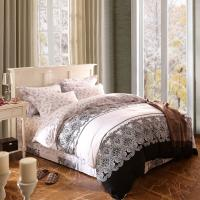 Home Textile King Size Cotton Bedding Sets Beautiful Design Washable Manufactures