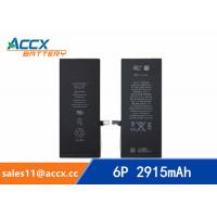 ACCX brand new high quality li-polymer internal mobile phone battery for IPhone 6Puls with high capacity of 2915mAh 3.8V Manufactures