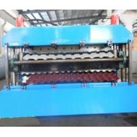 18 Forming Stations Double Layer Roll Forming Machine PLC For IBR / Corrugated Sheets Manufactures