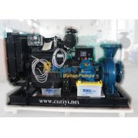 160m3/h Large flow 10m high lift diesel powered water pumps 6 inch fixed type Manufactures