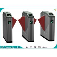 Passageway Double Wing Flap Barrier Gate Automatic Security Tursntile Manufactures