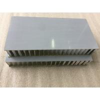 White PVDF / FEVE Paint Aluminium Honeycomb Composite Panel Sound Insulation  Manufactures