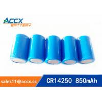 lithium battery cr14250 1/2aa 3.0v 850mAh Manufactures