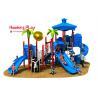 Vivid Color Image Kids Plastic Slide , Shopping Mall Outdoor Play Slide 32m³ for sale