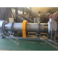 50 / 60Hz Large Scale Rotary Kiln Dryer Gas Heating 70% Drying Efficiency Manufactures