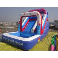 Quality Outdoor Amusement Inflatable Water Slide Double Strong Stitching for sale