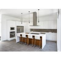 High Quality Australia Modern White Kitchen Pantry Cupboards Kitchen Cabinets Manufactures