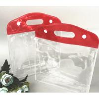 Heat Seal Transparent Gift Bags Customized Color For Shopping / Promotion Manufactures