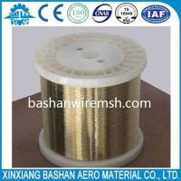 High sale,high quality and low price wire 0.25mmEDM brass wire by bashan Manufactures
