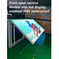 Front Open Digital Led Billboard , Outdoor Programmable Led Signs Manufactures