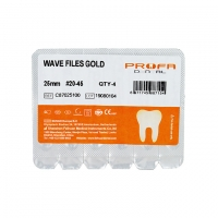 Double Edged Reciprocating Endodontic Files Niti M - Wire Gold Material #20-45 Manufactures
