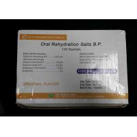 Oral Rehydration Salts 30gm Pharmaceutical Medicines 100 sachets / box Manufactures