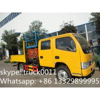 Dongfeng XBW Scissor type truck with bucket lift Manufactures