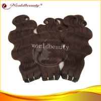 4# 100% Remy Body Wave Hair Extensions Weft With 18 Inch Manufactures
