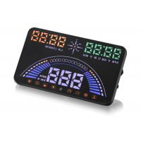 M9 HUD OBD Interface Obd2 Heads Up Display Speed Warning 5.8 Inches LED Screen Manufactures