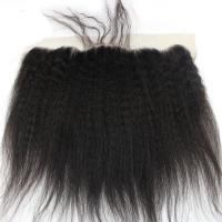 Yaki Kinky Straight 13x4 Lace Closure 100% Remy Hair Extensions For Black Women Manufactures
