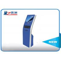 Buy cheap 17 inch automatic free standing touch queuing  self service kiosk from wholesalers