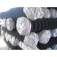 Galvanized CYCLONE FENCE Chain Link Fencing 55mm For Garden Residential Manufactures