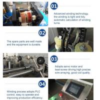 best selling automatic voltage transformer winding machine Manufactures