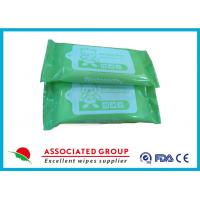 Portable Design Unscented Antibacterial Hand Wipes For Cleaning Hands And Body Manufactures