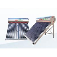 High Density Portable Solar Water Heater With Aluminum Alloy Frame Manufactures