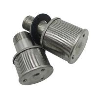 China Sugar mill stainless steel filter nozzle strainer screen on sale