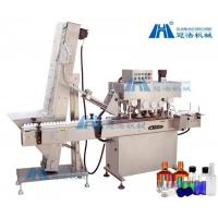 China Cosmetics / Medicine Linear Capping Machine , Electric Driven Bottle Capping Machine on sale