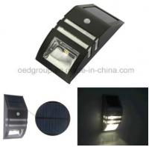 Human Body Induction Solar Wall Light, Solar PIR Motion Sensor Light, Solar Garden Light Manufactures