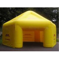 Fireproof Continuous Inflatable Booth Tent PVC Tarpaulin For Exhibition Manufactures