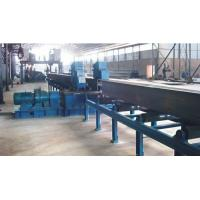 Quality Flange Plate Straightening Machine Press Edge Deformate H Beam Production Line for sale