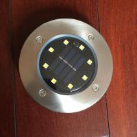 Waterproof  LED Solar Floor Lights Solar LED Underground Lamps With Plastic Housing Manufactures