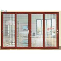 Quality Professional Powder Coated Aluminum Patio Sliding Doors For Residential for sale