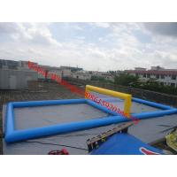 Inflatable water sport inflatable volleyball court Manufactures