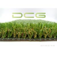 Mixed Colorful Artificial Grass For Yard  High 16800 Density Easy Installation Manufactures