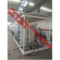 2019s cheapest price 25m3 mobile skid lpg gas refilling plant with double scales for sale, skid-mounted lpg gas station Manufactures