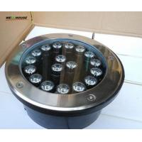 18*1W high power LED underground light;DC24V input;white color;IP68 Manufactures