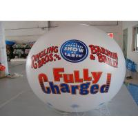 White Inflatable Marketing Products Advertising , PVC Inflatable Ball Off Site Layout