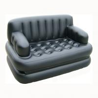 Portable PVC Airtight Soft Modern Inflatable Furniture / Inflatable Sofa Manufactures
