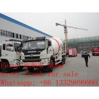 Quality 2017s new best price 8m3 FOTON ROWOR 6x4 concrete mixer truck for sale, factory for sale