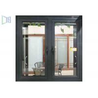 Powder Coating Home Casement Windows , Sound Insulation Aluminum Replacement Windows Manufactures