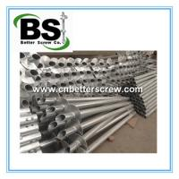 helical pile with one to three helix for construction foundation repair Manufactures