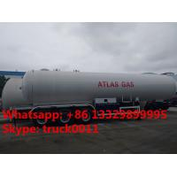 Quality 2017s best seller CLW 20tons bulk road transported lpg gas tank for sale,  factory sale 20metric tons lpg gas trailer for sale