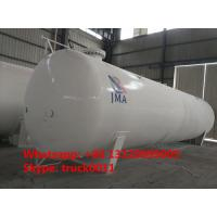 export model 65,000L 26MT bulk surface lpg gas storage tank for sale, 65m3 propane gas storage tank for Nigeria market Manufactures